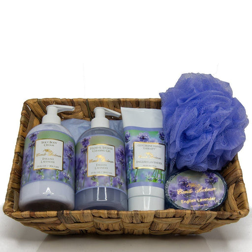 Essentials Gift Basket English Lavender - Camille Beckman