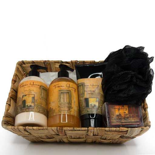 Essentials Gift Basket Tuscan Honey - Camille Beckman
