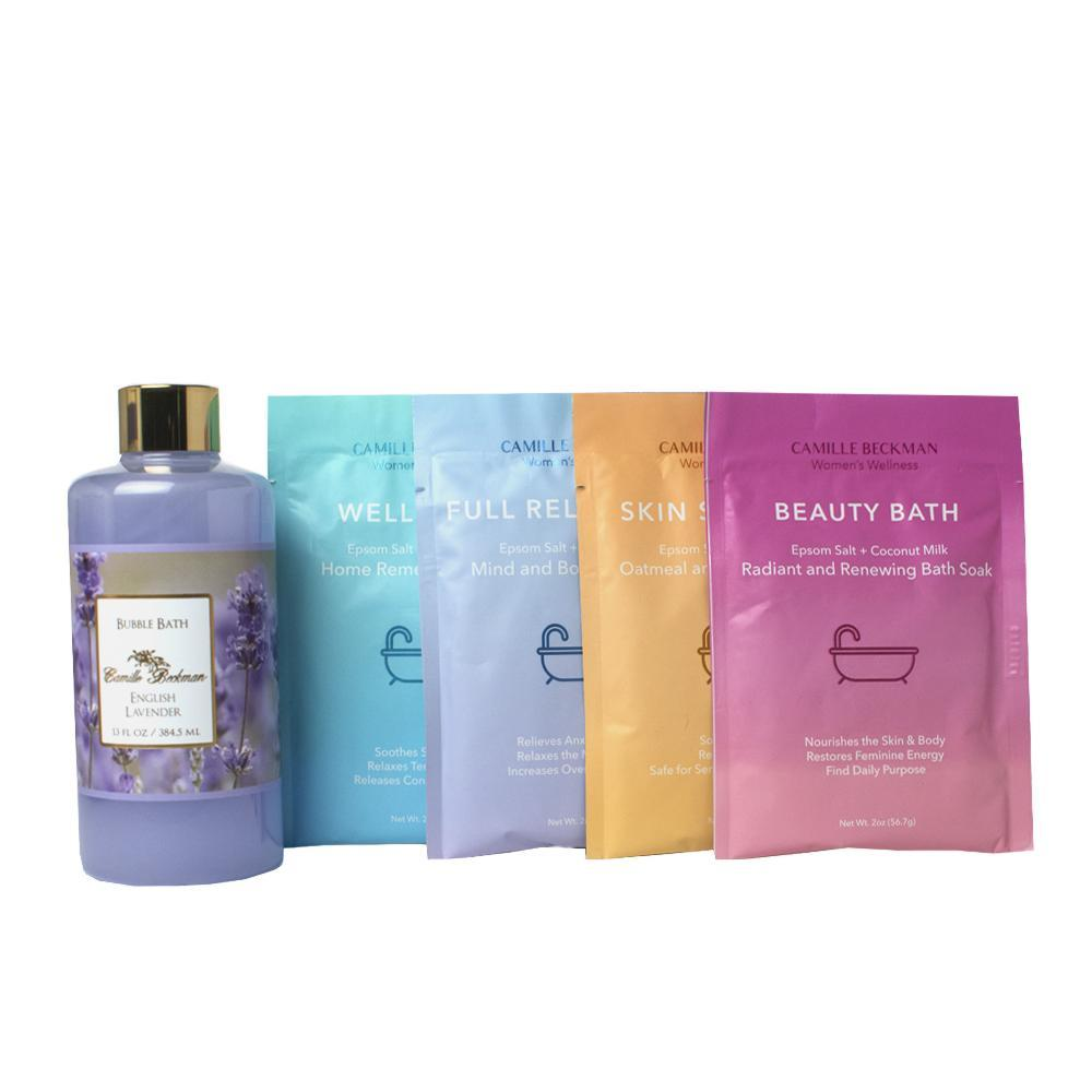 Bath Time With English Lavender Bundle