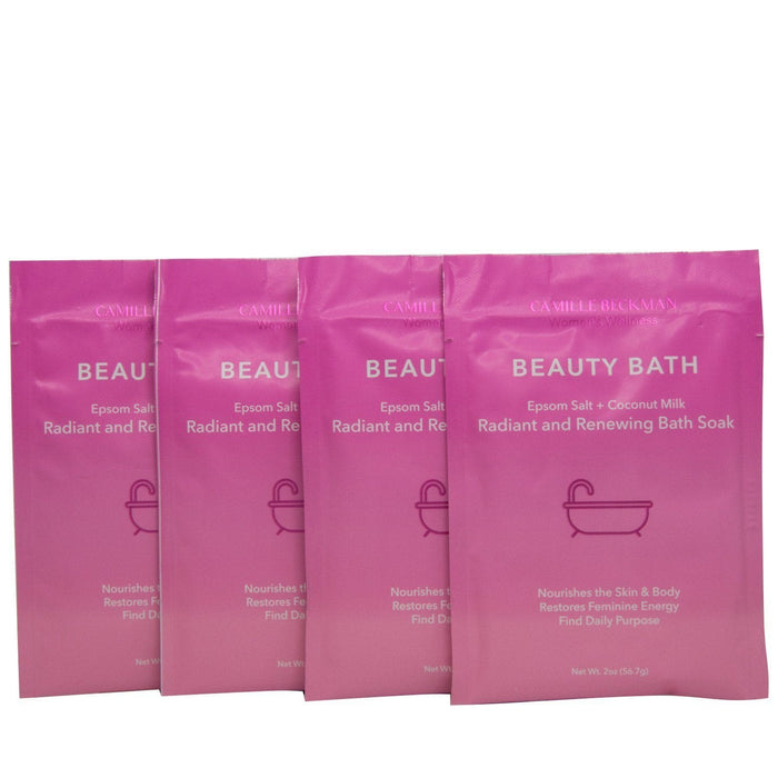 Beauty Bath - Radiant and Renewing Bath Soak (4 Pack) - Camille Beckman