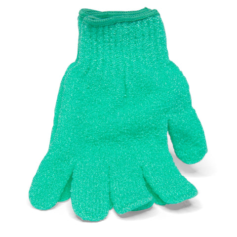 Exfoliating Body Glove Green