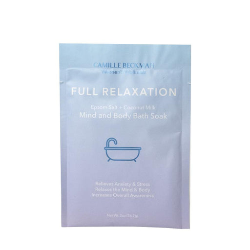 Bath Soak -  Full Relaxation - Mind and Body Bath Soak 2oz
