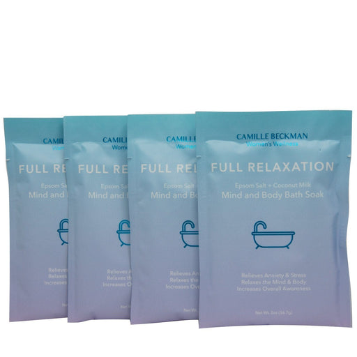 Full Relaxation - Mind and Body Bath Soak (4 Pack) - Camille Beckman