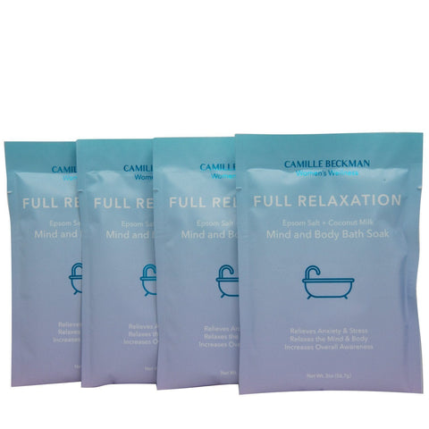 Full Relaxation - Mind and Body Bath Soak (4 Pack)