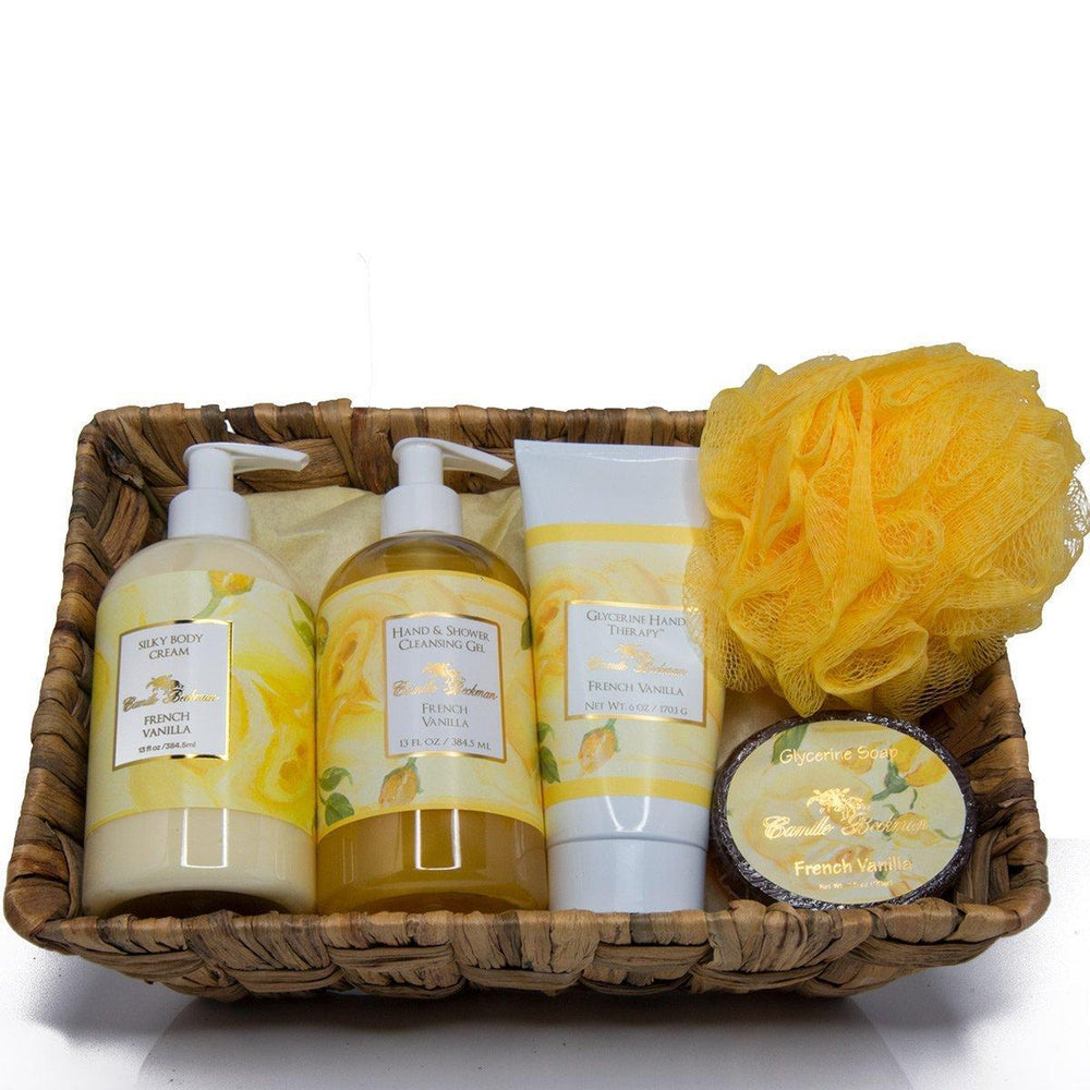 Essentials Gift Basket French Vanilla - Camille Beckman