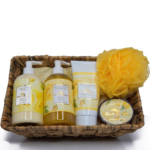 Essentials Gift Basket French Vanilla