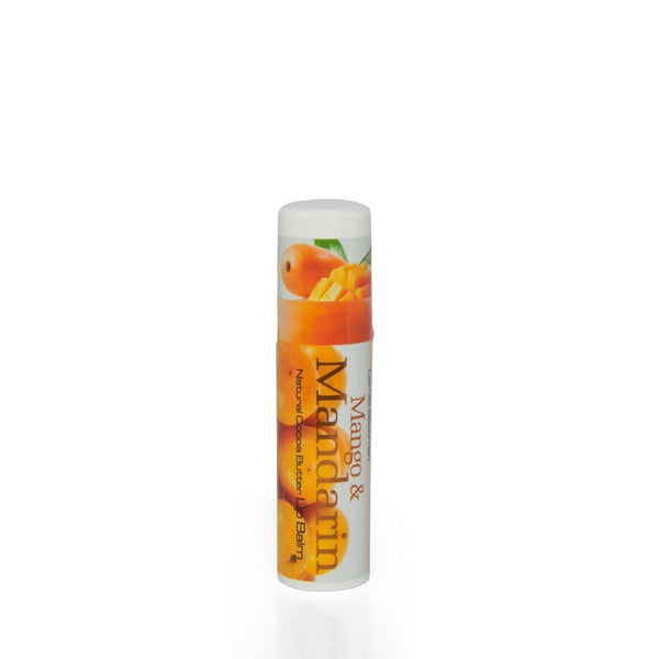 Natural Cocoa Butter Lip Balm Mango and Mandarin