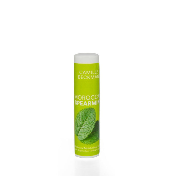 Natural Cocoa Butter Lip Balm Moroccan Spearmint - Camille Beckman