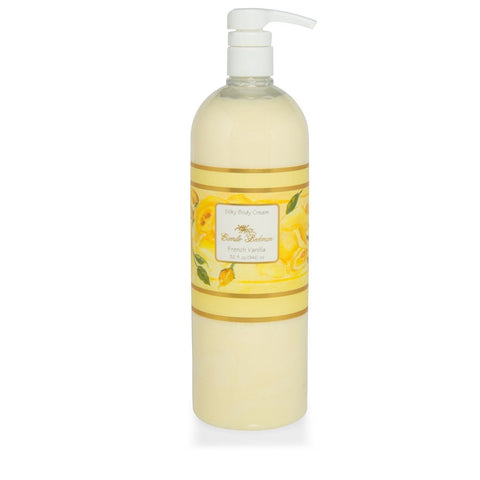Silky Body Cream French Vanilla 32 oz