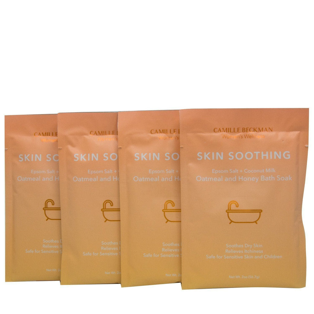Skin Soothing - Oatmeal and Honey Bath Soak (4 Pack) - Camille Beckman