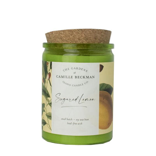 Sugared Lemon Candle