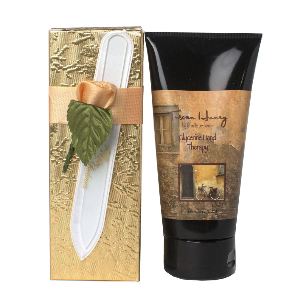 Romantic Manicure Gift Set Tuscan Honey