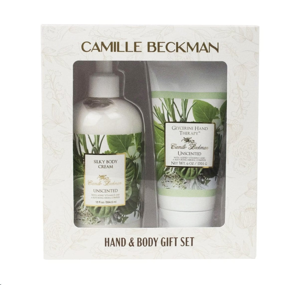 Unscented Classic Hand & Body Gift Set