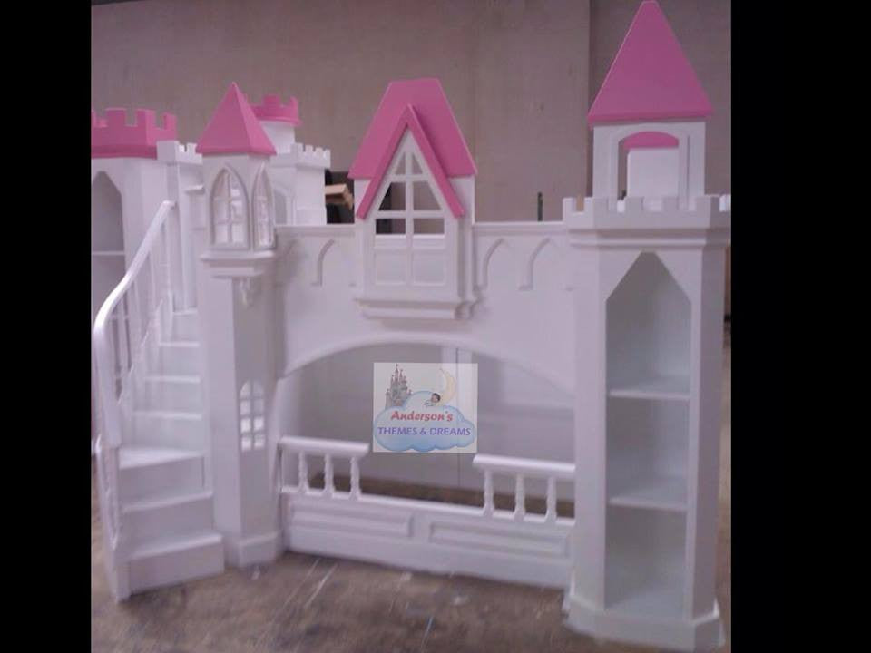 Princess Castle Beds Themed Castle Bunk Bed Anderson S Themes And