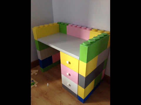 Block themed matching furniture