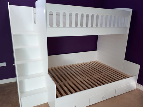 Bunk beds with 4ft6 double below