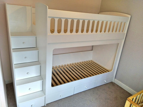Bunk Beds With Drawer Stairs