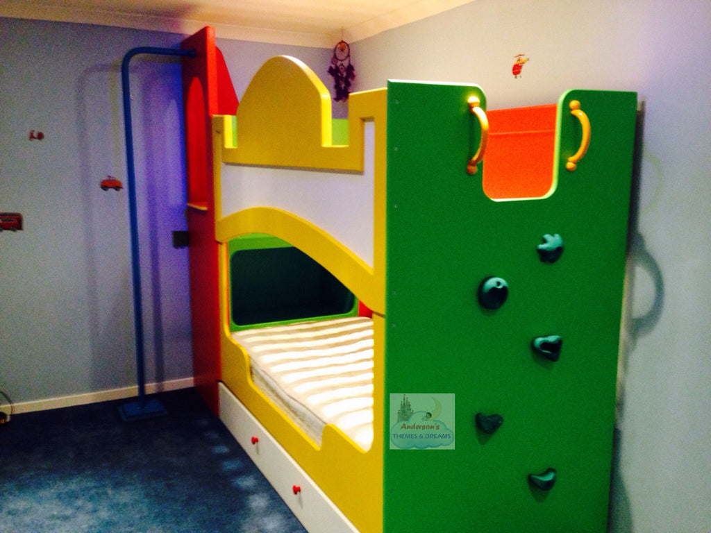 Themed Bunk Beds With Play Activities