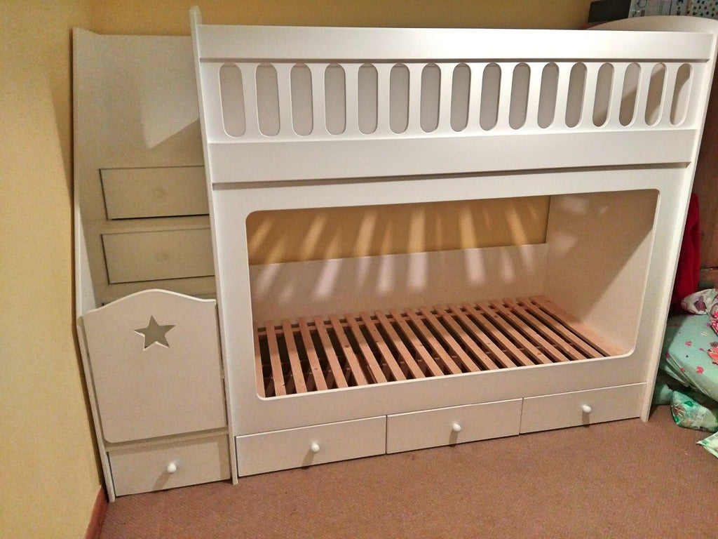 Full size single bunk beds