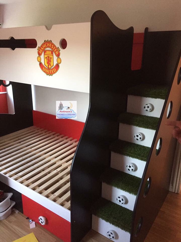 Football Themed Bunk Beds