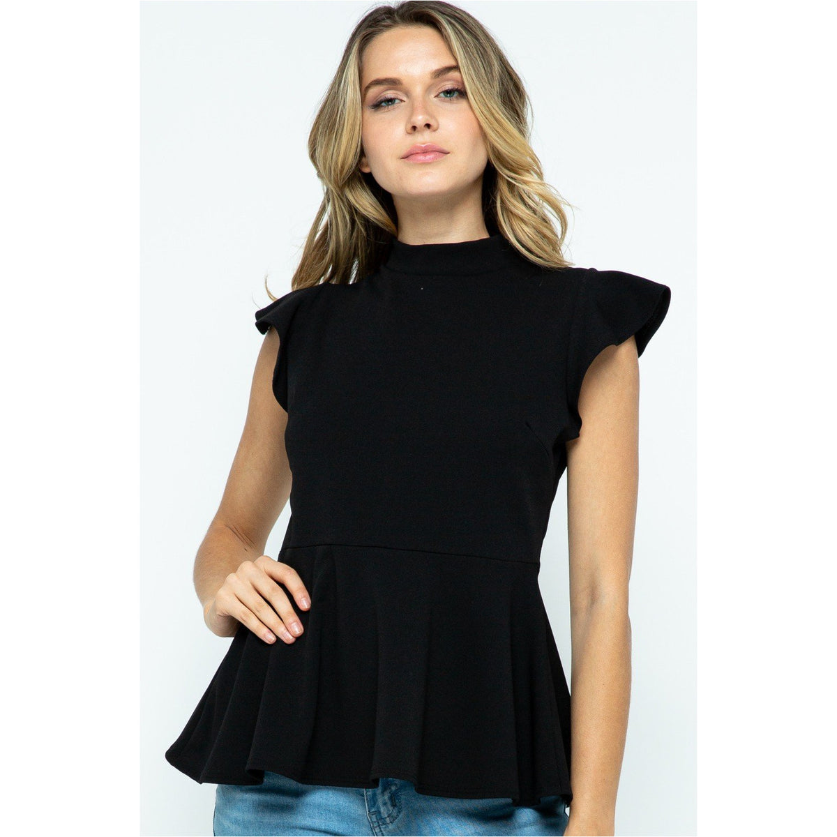 Ruth, Peplum Blouse