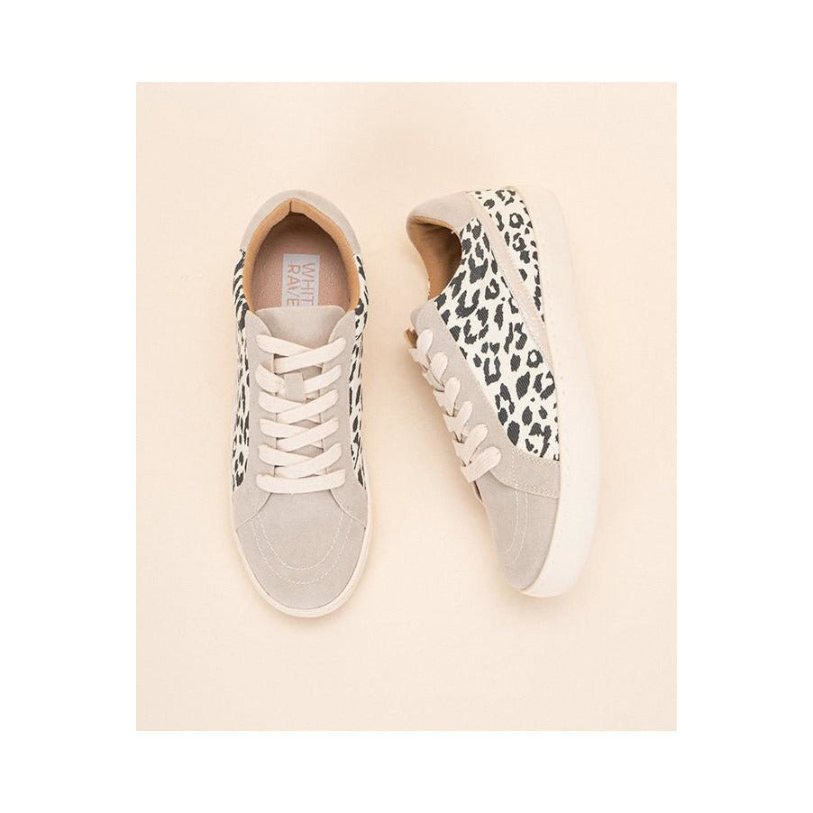 First Look Leopard Sneaker
