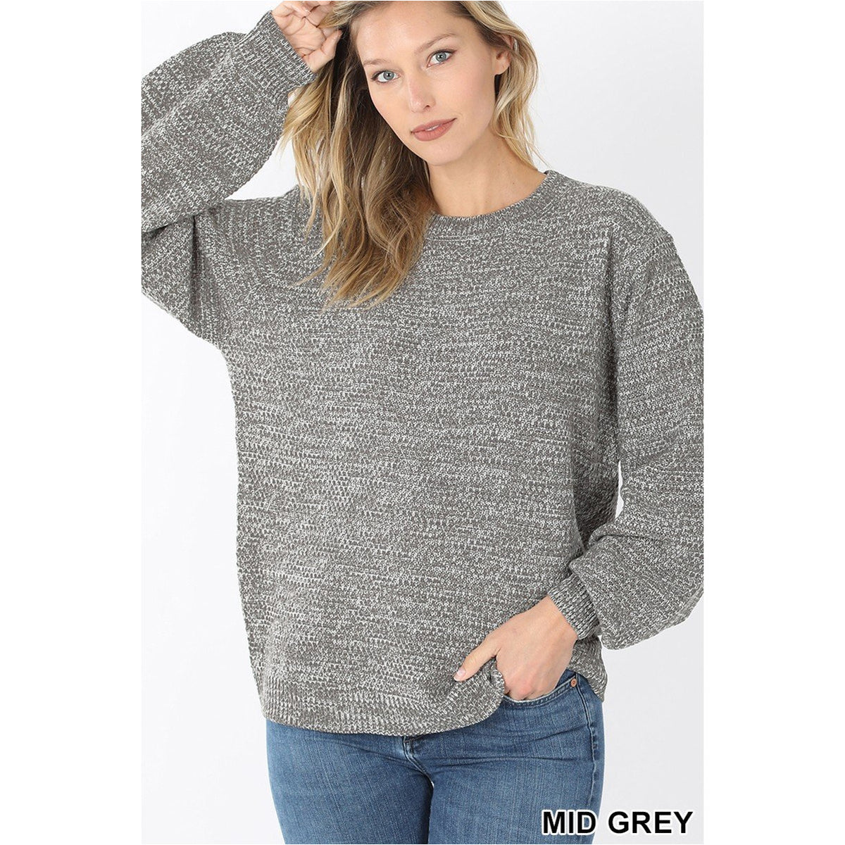 Melange Sweater