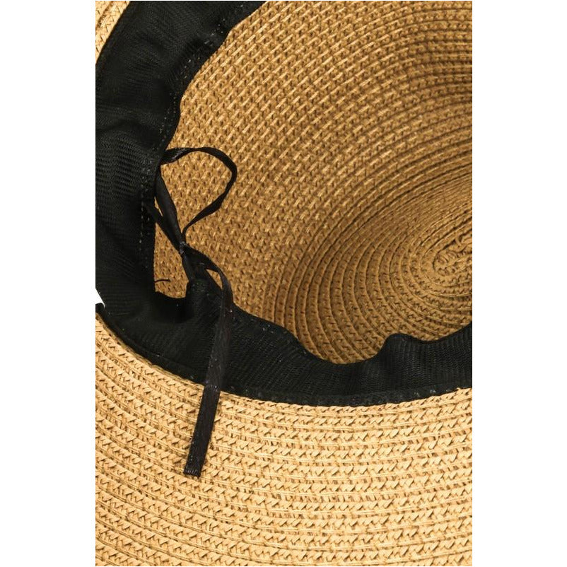 Snake Band Straw Hat
