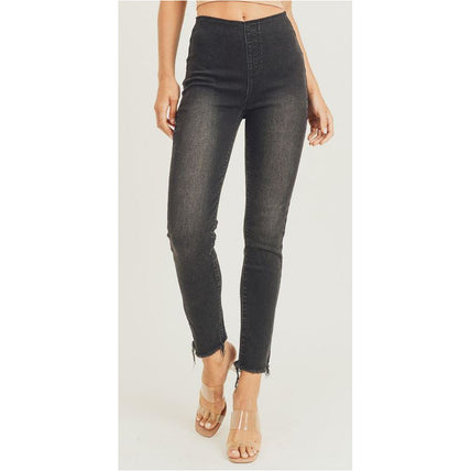 Hannah, Pull Up Grey Denim