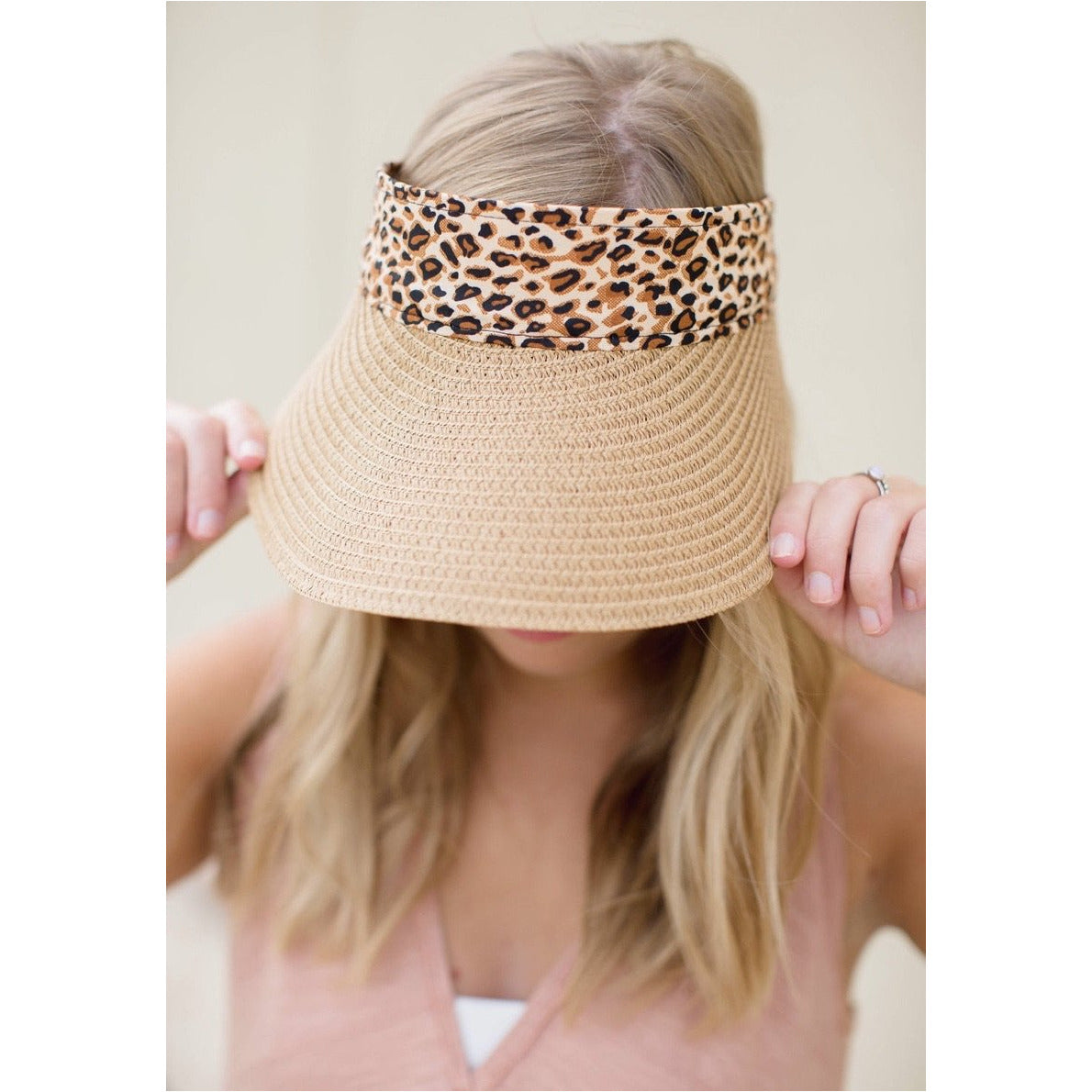 Leopard Visor, Adjustable