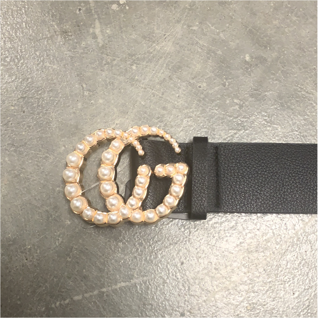 Pearl Buckle Inspired Belt