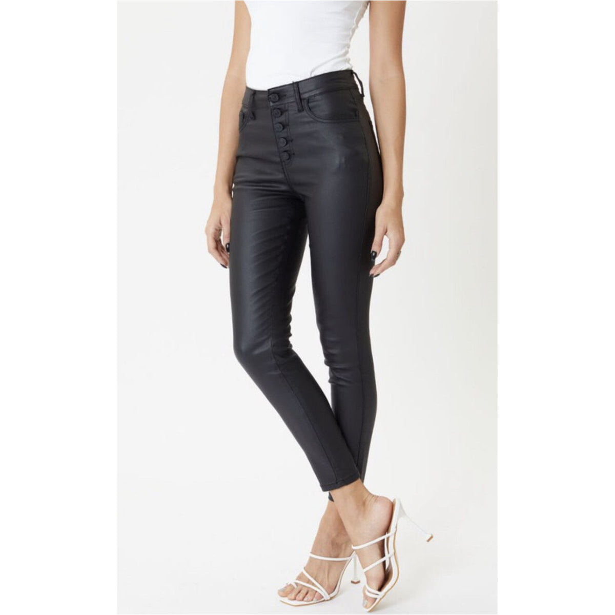 Ruby, Leather Ankle Skinny