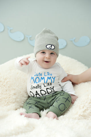 Cute Like Mommy - Boys Onesie