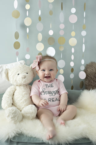 The Snuggle Is Real Girls Onesie