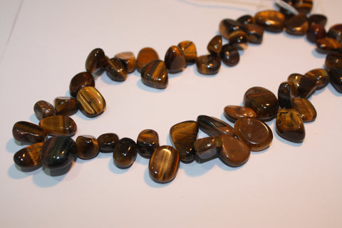 Tigers Eye Drop Style Chips
