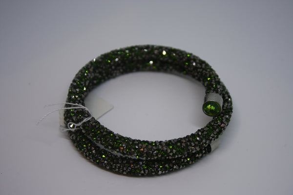 Sparkly Wrap Bracelet Green - great for Christmas