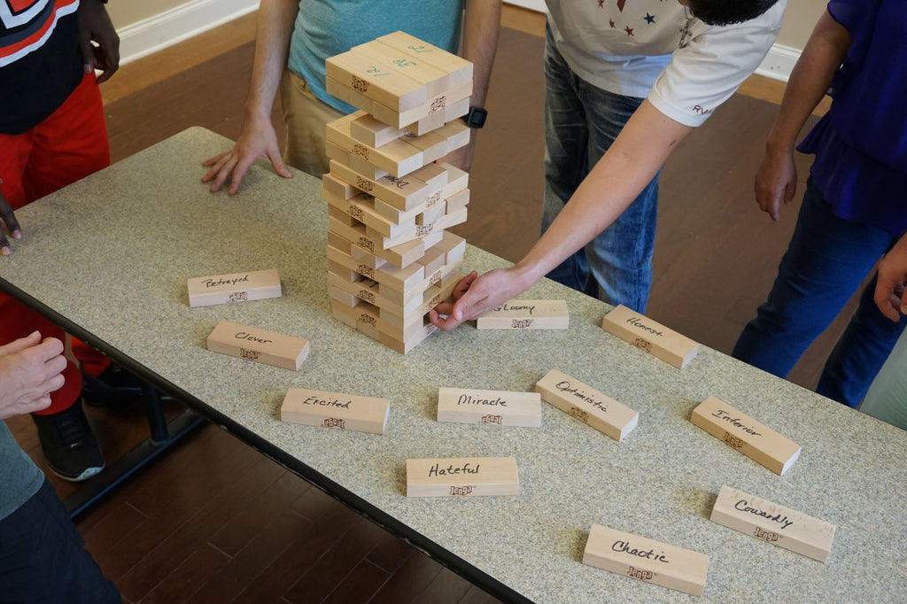 Emotional Jenga