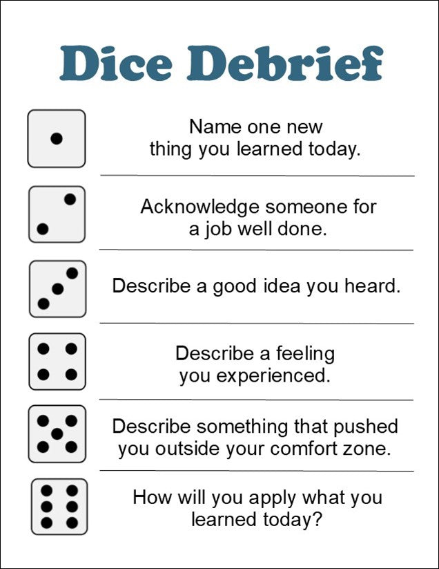 Dice Debrief