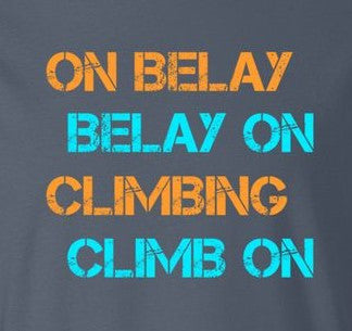 Climbing Commands/Belayer Responsibilities