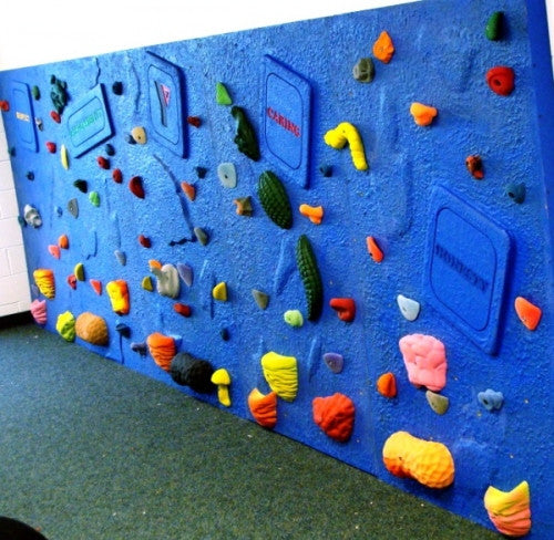 Islands for the Climbing Wall
