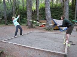 Rope Jousting