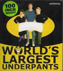 Worlds Largest Underpants Concept