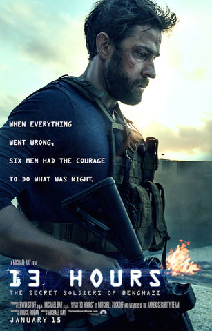 13 Hours: The Secret Soldiers of Benghazi (2016) (HNR) - Anthology Ottawa