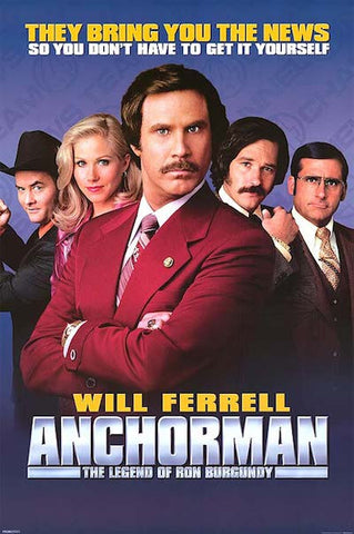 Anchorman: The Legend of Ron Burgundy (2004) (C) - Anthology Ottawa
