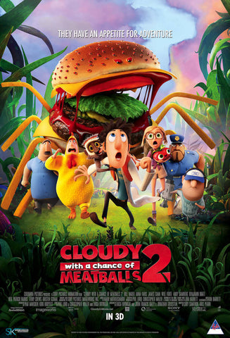 Cloudy With A Chance Of Meatballs 2 (2013) (C) - Anthology Ottawa