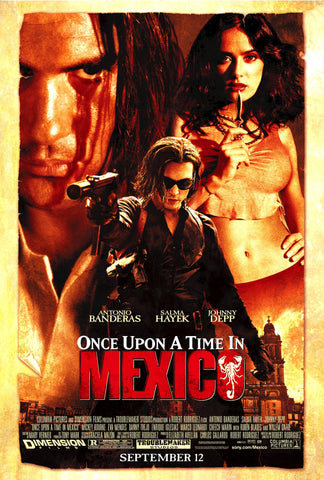 Once Upon A Time In Mexico (2003) (C) - Anthology Ottawa