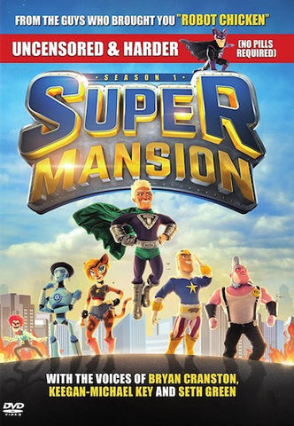 SuperMansion: Season 1 (2015) (THNR) - Anthology Ottawa
