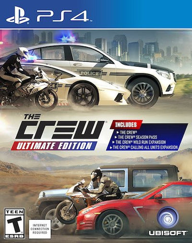 The Crew: Ultimate Edition (2016) PS4 (GHNR) - Anthology Ottawa