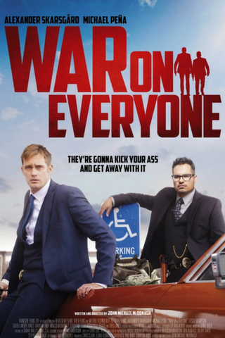 War on Everyone (2016) (HNR)
