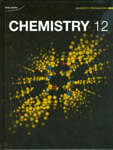 Chemistry 12 (TXTC) - Anthology Ottawa